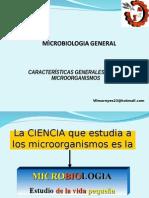 Clase 1 Caracteristicas de Microorganismos