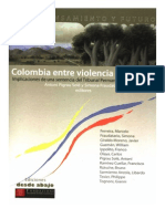 Colombia Entre Violencia y Derecho