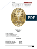 Informe 7-Electroquímica