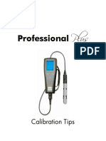 YSI Professional Plus Calibration Tips