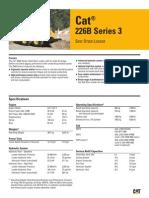 Minicargador 226B Serie 3