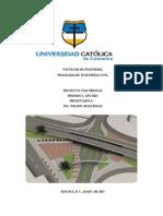 Proyecto de Vias Intersecciones a Desnivel