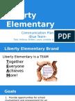 liberty elementary communication plan