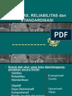 E-Validitas Reliabilitas Dan Standardisasi