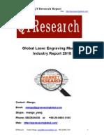 Global Laser Engraving Machine Industry Report 2015