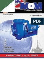 Centrifugal MCM-MUD Pumps