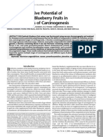 Chemopreventive Potential of Wild Lowbush Blueberry Fruits in Multiple Stages of Carcinogenesis TRISTAN F.