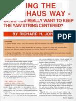 Holighaus - Thermalling Efficiency