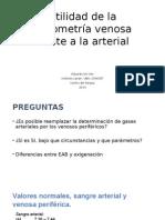 Gaseometria Venosa Frente a La Arterial