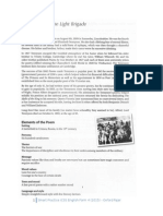 Literature in English Language F4 (Poems) - Charge of the Light Brigade