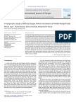 A Comparative Study of Different Fatigue Failure Assessments