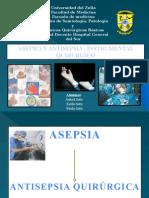 19.- Asepsia y Antisepsia, Instrumental Quirurgico