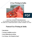 Natural Gas Pricing in India