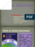 Global Warming ..........