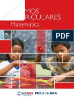 Tramos Curriculares Matemática