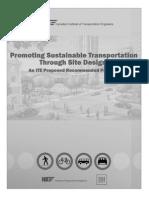 ITERP-PromotingSustainableTransportationThroughSiteDesign