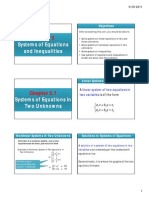 Chapter 5.1 Systems of Equations in Two Variables; Chapter 5.2 Matrices and Determinants.pdf