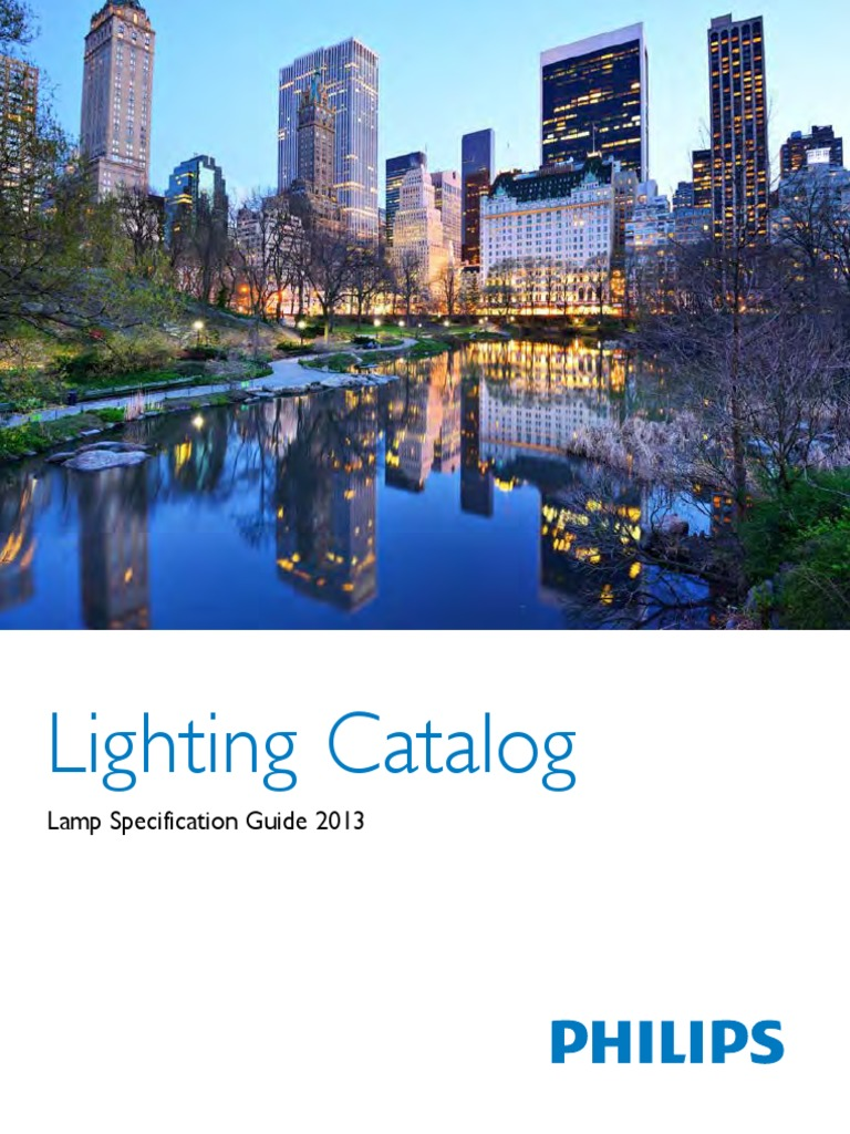 Katalog Lampu Philips   Light Emitting Diode   Fluorescent Lamp on