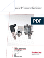 Pressure Mechanical Switch