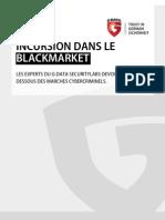 Compte rendu sur le marché noir en ligne