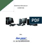 PROPOSAL PENGADAAN Komputer Dan Instalasi Jaringan