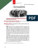 2nd Quarter 2015 Lesson 12 Teachers Edition Jesus in Jerusalem