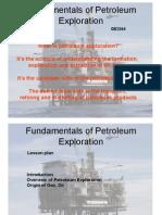 Origin of Petroeum