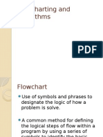 Flowcharting and Algorithms