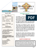 church bulletin for  6-21-2015 (1)