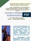 Actos y Condiciones Sub Estandares