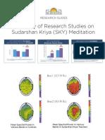 Sudarshan Kriya Research Slides