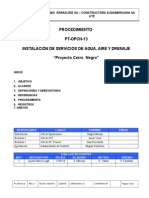 PT-OPCN-13 Rev-1 Servicios Agua, Aire, Drenaje