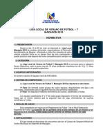 Bases Liga de Verano Futbol 7 Mazagón 2015