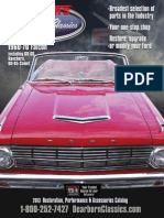 1960 to 1970 Ford Falcon Restoration Catalog