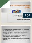 Obstructive Sleep Apnea and Analgesia.sjh Powerpoint