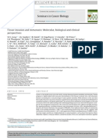 Tissue Invasion and Metastasis - Molecular, Biological and Clinical - Review