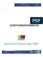 Electricity Distribution - An Operator's View