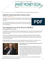 Warren Buffett-Investing Lessons From His Life