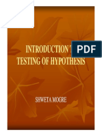 Unit Vi Testing of Hypothesis 868131580