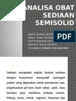 Sediaan Semisolid