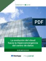 La evolución del cloud hacia la Hiperconvergencia del centro de datos