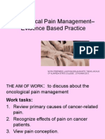 Oncological Pain Management EBP