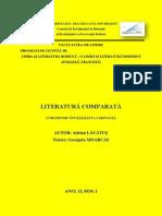 Lit. Comp. an II Sem. 1