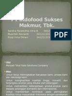 PT Indofood Sukses Makmur, Tbk