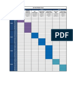 Copy of SAP HCM Proposed Schedule