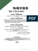 Triomphe de l'Eglise... sur l'hérésie de l'Abbé OEGGER, Vicaire de la Cathédrale de Paris, par l'Abbé T.J.Mayneau, 1830