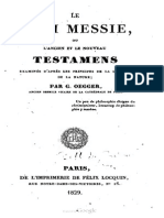 Abbé Guillaume OEGGER Le Vrai Messie 1829
