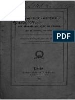 Abbé Guillaume OEGGER préface, et traduction de l'Allocution pastorale adressée aux anglais qui sont en France, M.luscombe, 1827