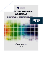 CONTRASTIVE ENGLISH AND TURKISH GRAMMAR, YUKSEL GOKNEL