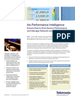Iris Performance Intelligence - DATASHEET